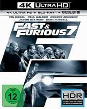 """FAST & FURIOUS 7"" - Vin Diesel, Dwayne Johnson - 4K ULTRA HD BLU RAY 2-Disc-Set"