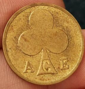ACE Cafe Gaming Token Bikers 1960's 59 Club London double ace from Kayihan coins