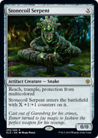 Stonecoil Serpent - Foil x1 Magic the Gathering 1x Throne of Eldraine mtg card