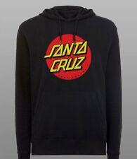Santa Cruz Mens Hoodie Hooded Jumper Sweatshirt