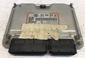 2007 Volkswagen Beetle 2.5L ECM ECU Engine Control Module   07K 906 032 AA