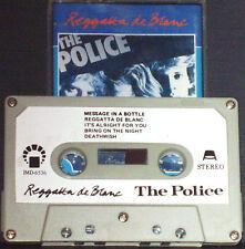THE POLICE REGGATTA DE BLANC IMPORT SAUDI CASSETTE ALBUM IMD LABEL Rock Pop
