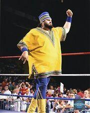 "WWE PHOTO AKEEM INRING 8x10"" OFFICIAL WRESTLING PROMO ONE MAN GANG"