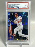 Mike Trout 2020 Topps Chrome Sapphire Edition - PSA 9 Mint