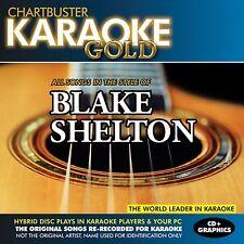 Karaoke Gold: Songs in the Style of Blake Shelton [CD]