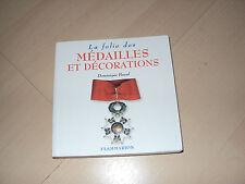livre LA FOLIE DES MEDAILLES ET DECORATIONS