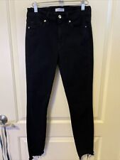 Good American Solid Black Jeans Good Legs Size 4/27