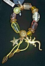 Pilgrim Gold Charms Bracelet with Swarovski Crystals