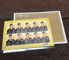 Thailand 2018 MNH Sheet of 10 The King's Vajiralongkorn 66th Birthday FS