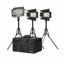 IKAN Bi-color Studio Battery AC camera Lighting LED Light Kit IBK23150-v3