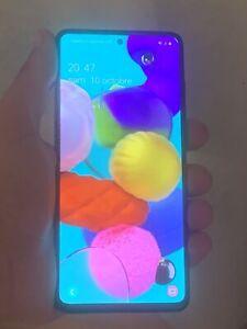 Samsung Galaxy A51 5G SM-A516B/DS - 128Go - Noir prismatique (Débloqué) (Double