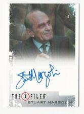 Stuart Margolin as Dr. They The X Files Season 10 & 11 Autograph Card Auto