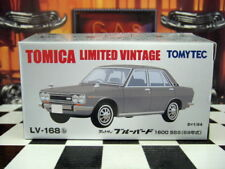 TOMICA LV-168 DATSUN BLUEBIRD 1600 SSS NEW IN BOX LIMITED VINTAGE NEO SERIES