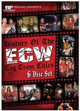 History of the ECW Tag Team Titles DVD Set, Extreme Wrestling WWE TNA WWF Sabu