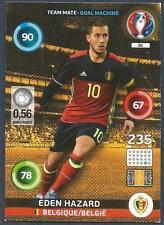 PANINI EURO 2016 ADRENALYN XL CARD- #036-BELGIQUE-BELGIUM-EDEN HAZARD