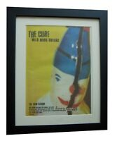 THE CURE+Wild Mood Swings+POSTER+AD+RARE ORIGINAL 1996+FRAMED+FAST GLOBAL SHIP
