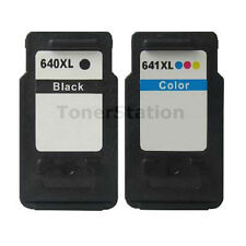2x Generic PG-640 CL-641 XL Ink Cartridges for Canon PIXMA MG2160 MG2260 MG3260