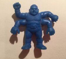 Vintage 1980's M.U.S.C.L.E. Muscle Men Figure Blue Colour