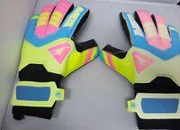 Aviata Size 11 Goalie Keeper Gloves Bright Colors