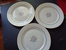 "Lenox Christie pattern 3 dinner plates 10.75"""