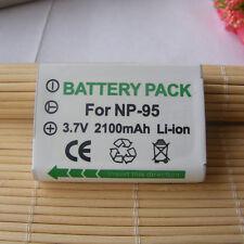 Battery For Fujifilm Fuji Finepix NP-95 F30fd 3D W1 X100S X100 X-S1