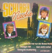Schlagernacht Manuela, Erik Silvester, Heike Schäfer, Bernd Clüver, Mario.. [CD]
