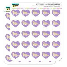 Munchkin Cat Heart Shaped Planner Calendar Scrapbook Craft Stickers