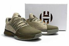 Adidas para hombre endurece Vol.1 rastro de carga/Lino Color Caqui/Blanco (BW0550) tamaño de Reino Unido 6.5 F14