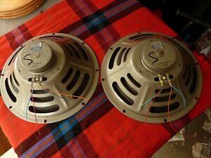"Pair of VINTAGE JENSEN 12"" SPEAKERS CONCERT SERIES, C12-R C7058-4, Made in USA"