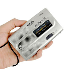 New Good Portable AM/FM Receiver World Universal Built in Speaker Pocket Radio