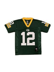 Aaron Rodgers Green Bay Packers Jersey Youth S NFL Team Apparel
