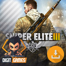 Sniper Elite III 3 Afrika - Steam / PC Game - New / Shooter / Action / Stealth