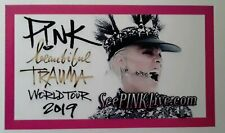 PINK ◇ BEAUTIFUL TRAUMA TOUR 2019 ♡ Promo Magnet LAST 4....