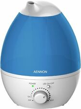 Cool Mist Humidifier Improves Health Skin Mood Sleep Focus - Breath Better W