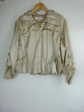 FOREVER NEW Jacket Sz 12 Bronze/brown
