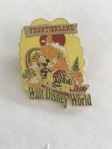 Disney Pins WDW Frontierland Mickey & Goofy