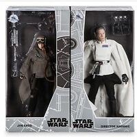 Disney D23 Expo Exclusive 2 Star Wars Action Figures Jyn & Krennic LE 1000 NEW
