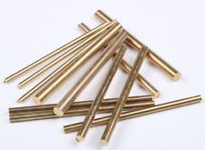 Brass Rod Bar Handles Knife Making Rivets Pin Pins DIY Supplies 200mm Length