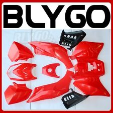 RED Plastics Fairing Fender Guards Cover Kit 125cc TIGER Quad Dirt Bike ATV