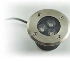 FARETTO LED INCASSO CARRABILE 3W 3000°K LUCE CALDA IP67 12VDC LAMPO CARR/3W/BC