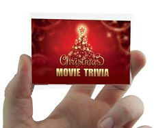 Christmas Film Quiz Trivia Card Game Xmas Party Cards Games Eve Box Fillers Gift