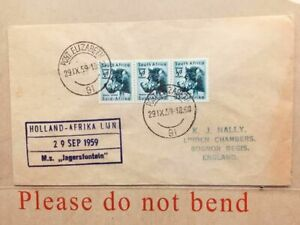 1959 South Africa Cover Airmail to Bognor Regis