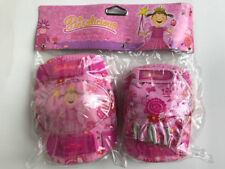 Pinkalicious Multi-Sport Elbow & Knee pads with gloves pink girl Flower protecti
