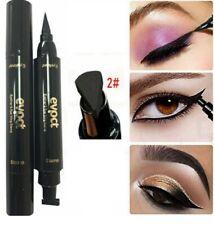 Black Winged Eyeliner Stamp Waterproof Eye Liner Pencil Liquid Pen Vamp Cat Eye