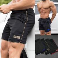 Men's Sports Workout Training Bodybuilding Summer Shorts Fitness Short Pants US