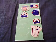 1983 Imperial Sheet of Montreal Expos Puffy Stickers