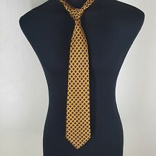 """HOLLAND & SHERRY -RARE-100% SILK TIE MADE IN THE U.S.A. 3.5"""" X 61"""" LONG--- MINT"""