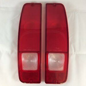 NEW 1967-1977 EARLY FORD BRONCO TAILLIGHT LENS SET.