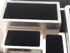 Aluminium Vierkantrohr / Rechteckrohr Alu Quadrat-Rohr Hohlpofil Aluprofil