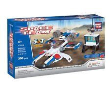 Space Invader 5 in 1 BricTek Building Block Construction Toy Space Team Brick